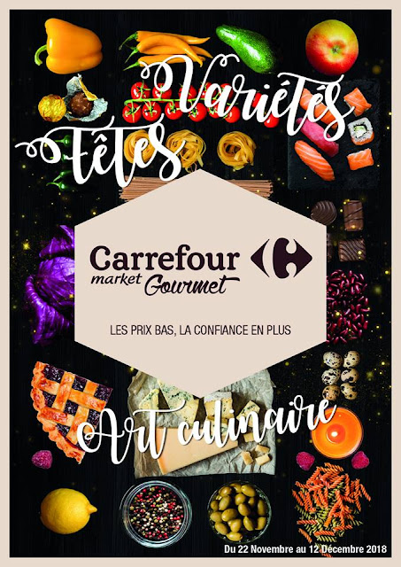catalogue carrefour market gourmet maroc novembre decembre 2018