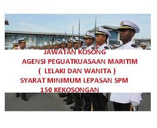 APMM Agensi Penguasa Maritim Kerja Kosong