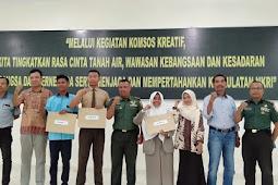 Gelar kegiatan Komnos cinta tanah air, Korem 162/WB Cari bibit Pecatur muda Wilayah Lombok