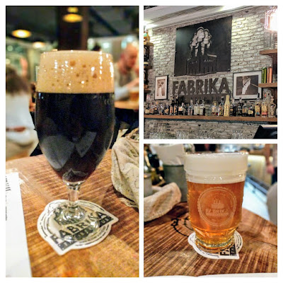 Things to do in Bratislava in winter: Drink craft beer at Fabrika