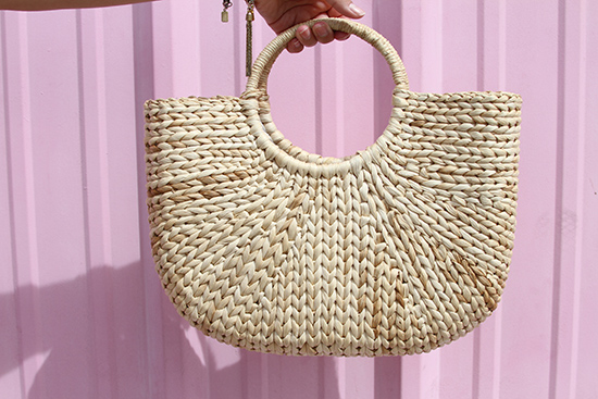 Italian Market Straw Bag | Will Bake for Shoes