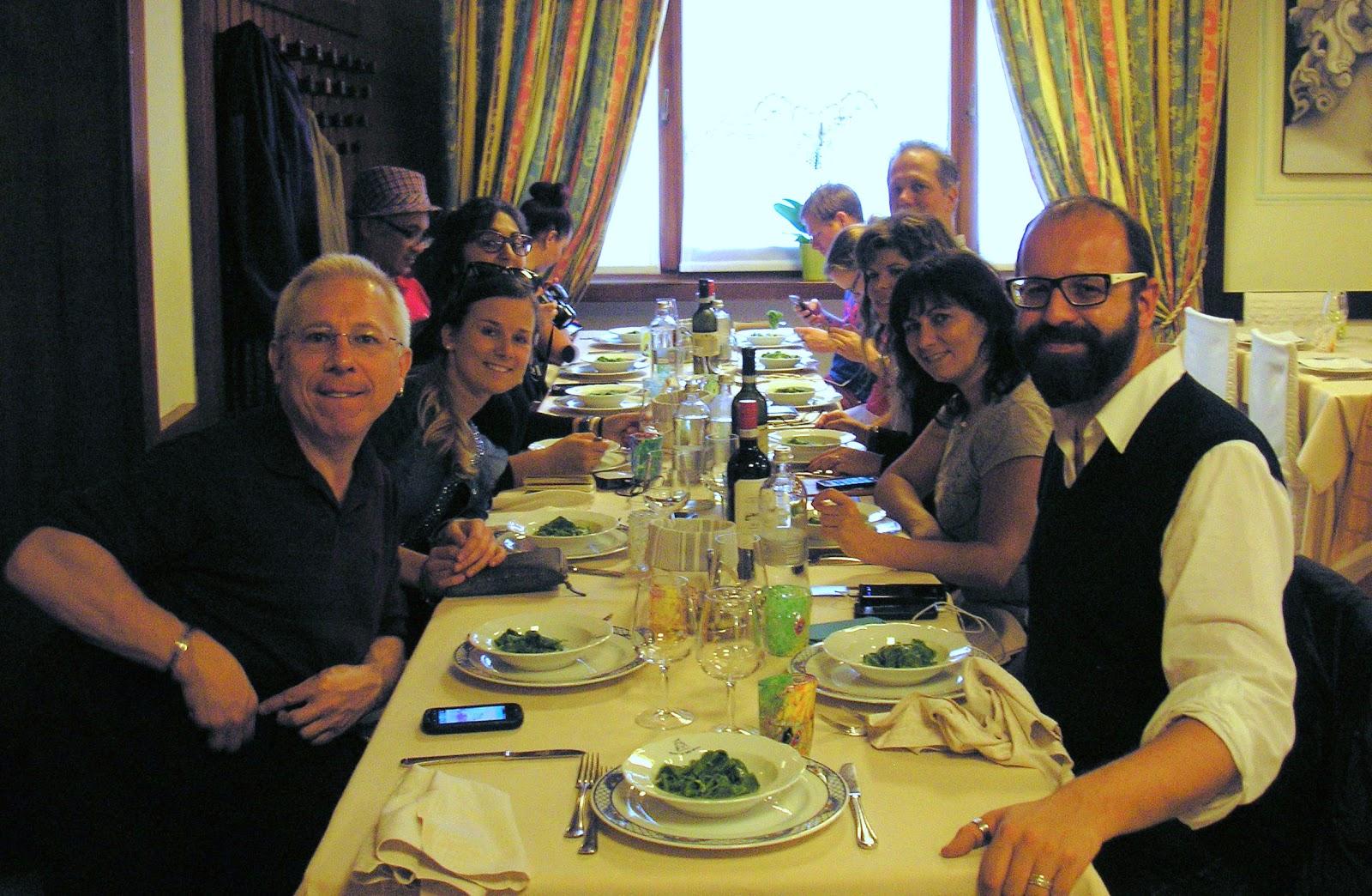 Tortellini feast at Ristorante Alla Borsa in Valeggio sul Mincio. Photo: Valeggio sul Mincio Tourism.