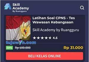 cara beli dan mengikuti pelatihan prakerja di skill academy