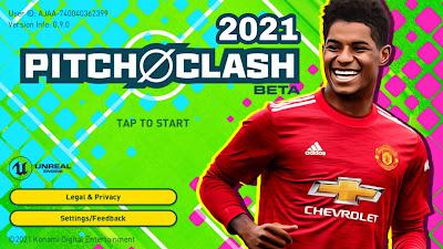 تنزيل لعبة pitch clash 2021 الجديدة للموبايل من شركة كونامي