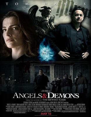 Poster Of Free Download Angels & Demons 2009 300MB Full Movie Hindi Dubbed 720P Bluray HD HEVC Small Size Pc Movie Only At worldfree4u.com