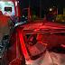 Carro e Moto se envolvem em grave acidente na Hermenegildo Tonolli