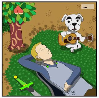 Animal Crossing - guitare