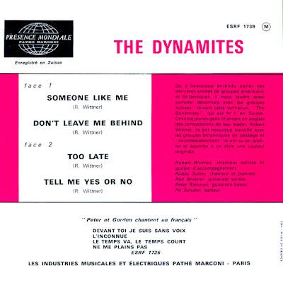 The Dynamites 63-66