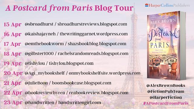 A Postcard from Paris by Alex Brown