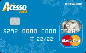 acessocard cartão de crédito pré pago sem taxa, anuidade e fatura