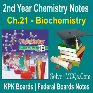 Solved Chemsitry Notes In PDF KPK Federal Board 12th Class