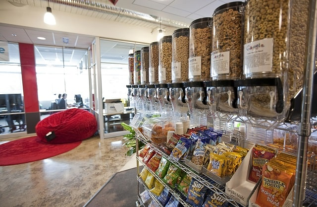 should you offer employees free snacks and drinks
