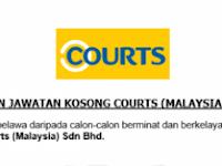 Jawatan Kosong Kerani Am Courts | Tarikh Tutup: 06 Disember 2019
