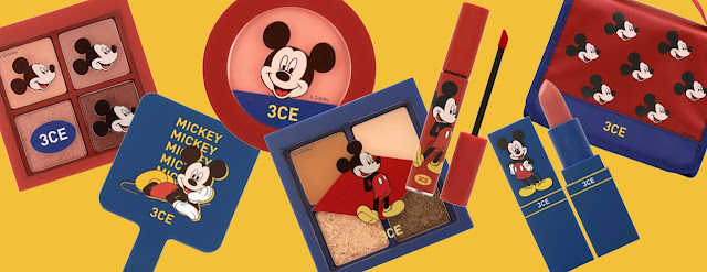 3CE x Disney Mickey Mouse Collection