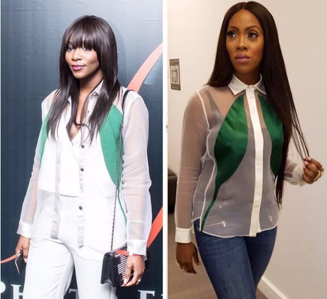 Who rocked it better between Genevieve Nnaji and Tiwa Savage?