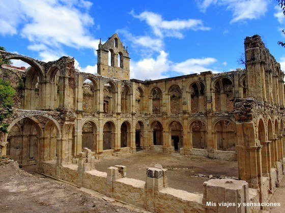 Ruinas del monasterio de Rioseco, Merindades, Burgos