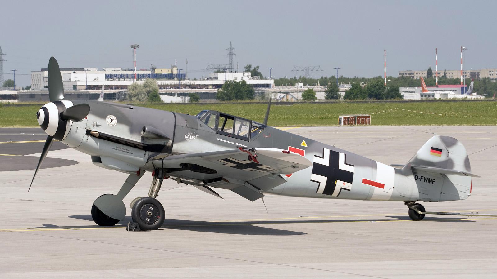 Messerschmitt Bf 109  Caza