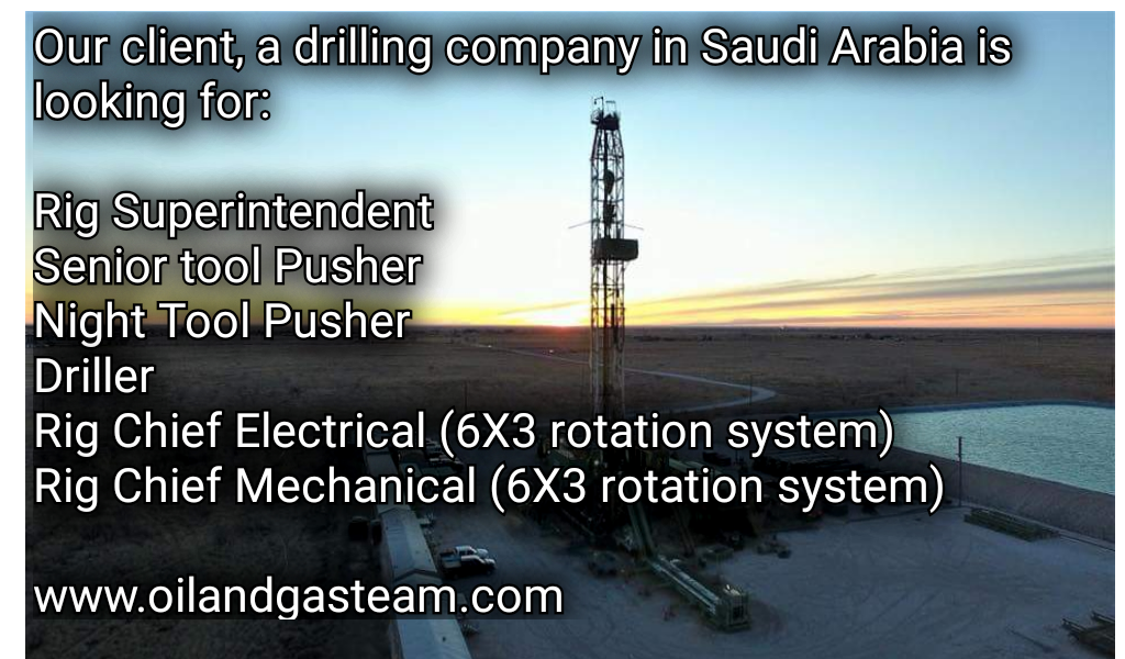 Oil and Gas Team: June 2019