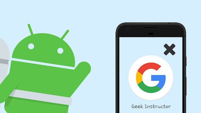 Remove Google account from Android phone