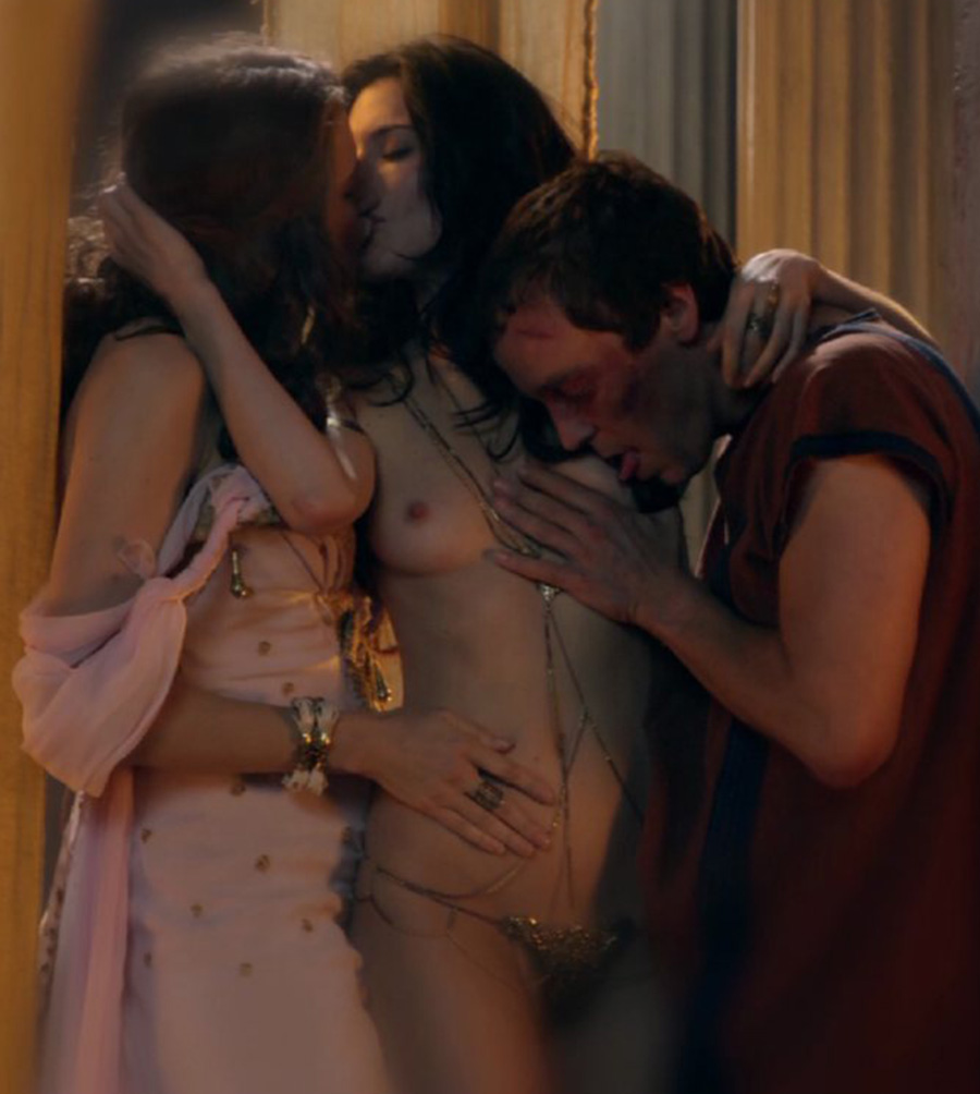 Lucy lawless spartacus nude