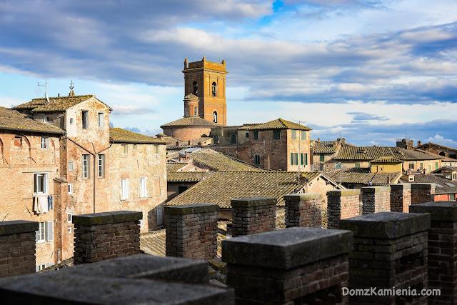 Siena widok z la Torre del Mangia