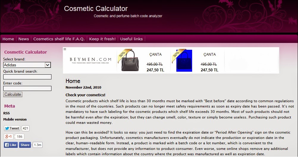 Expiration calculator care skin date How To