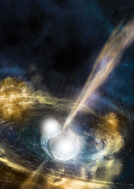 Két neutroncsillag összeolvadása