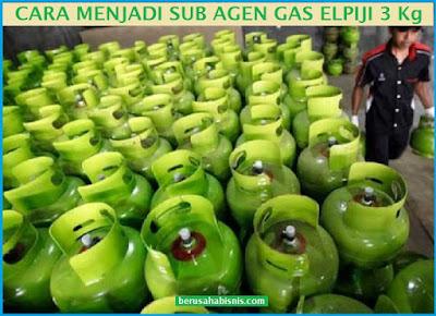 Rahasia Cara Menjadi Sub Agen Gas Elpiji 3 Kg Pertamina