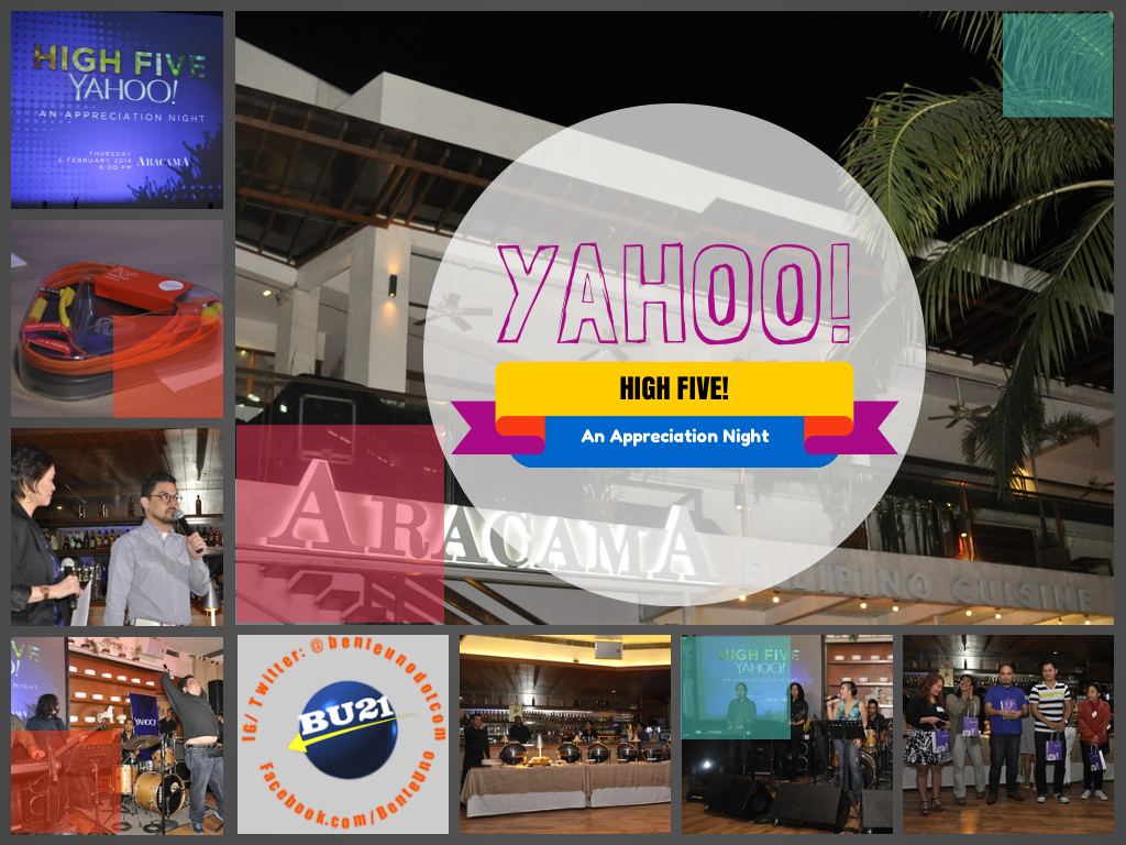 High Five Yahoo! Celebrating its 5 years in the Philippines