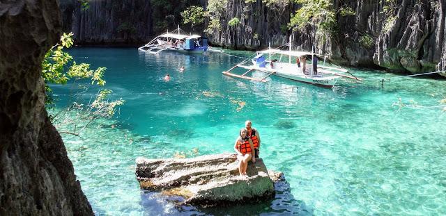 justin jade twin lagoon coron philippines palawan