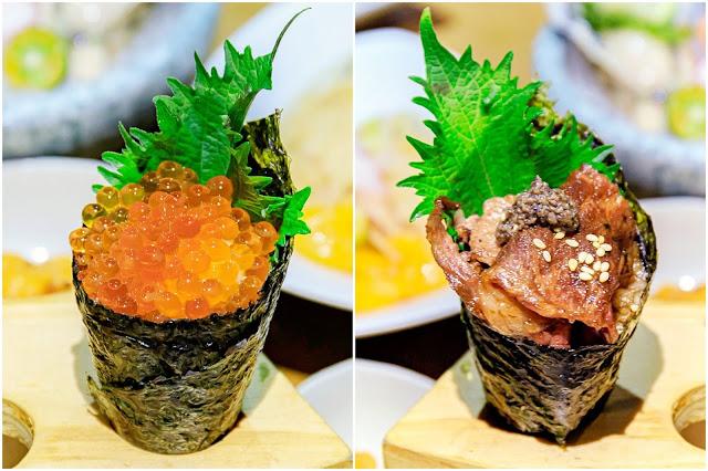 collage%25EF%25BC%2591 - 熱血採訪│海大蛤味噌湯,整碗的用料非常大方!台中當月壽星鮭魚三重奏免費吃!