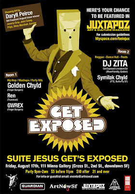 Juxtapoz Get Exposed poster