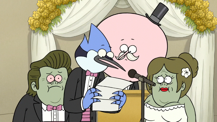 When did rigby and eileen start dating