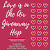 Love is in the Air Giveaway Hop #LoveIsInTheAir Ends 2/14