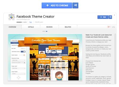 Cara Mengubah Background / Latar Belakang Warna Thema Facebook, Begini Caranya