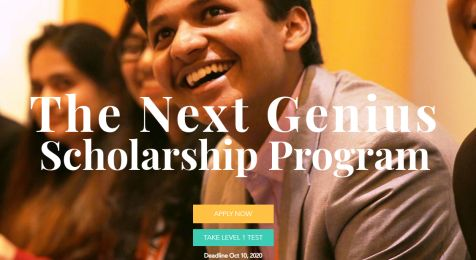 The Next Genius Scholarship Program
