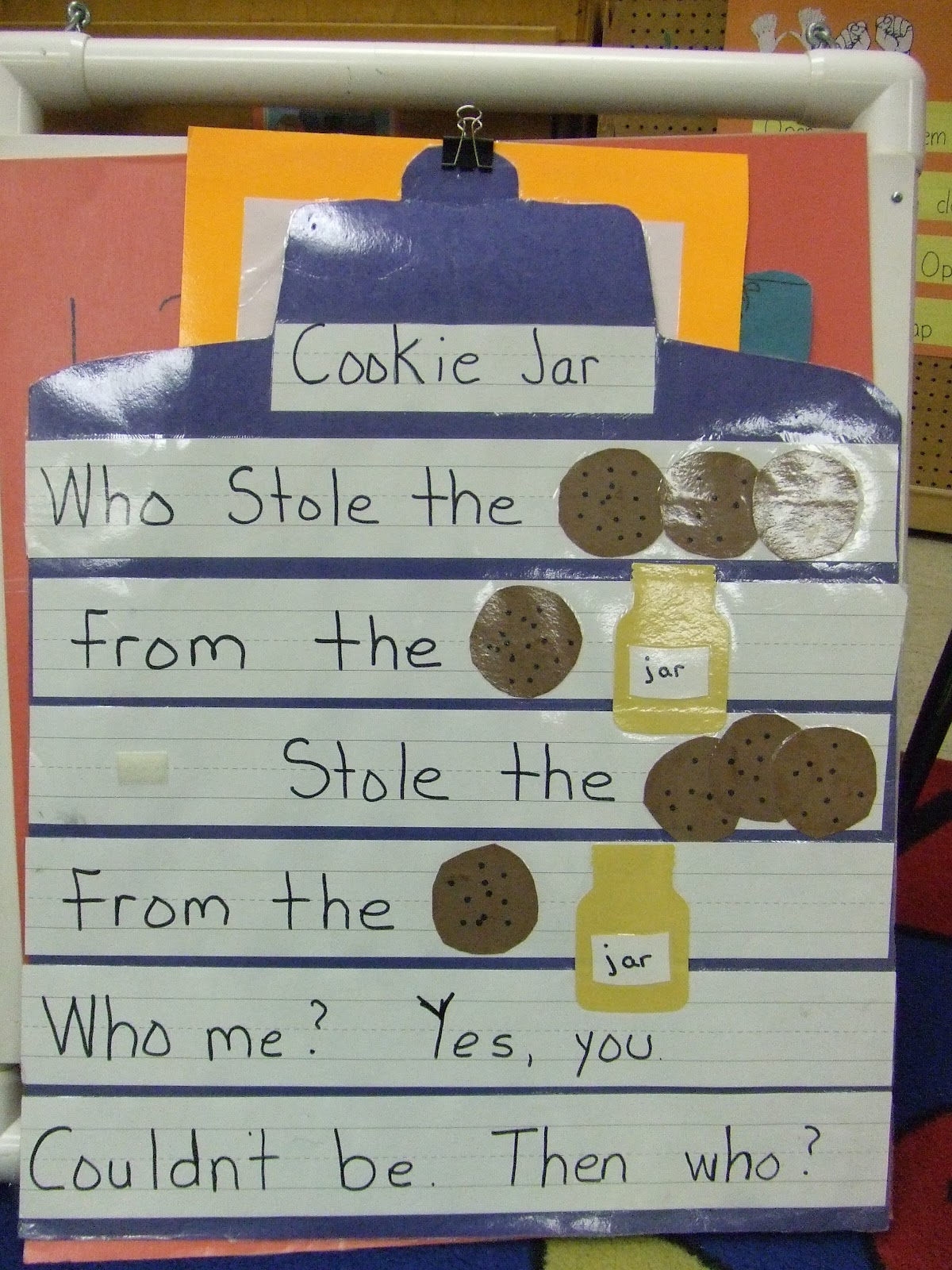 Cachey Mama S World Of Learning Who Stole The Cookie From