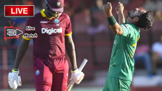 Pakistan Vs West Indies Match Live Streaming Match Preview