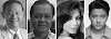 Who are the celebrities included in the ABS-CBN Top 100 stockholders