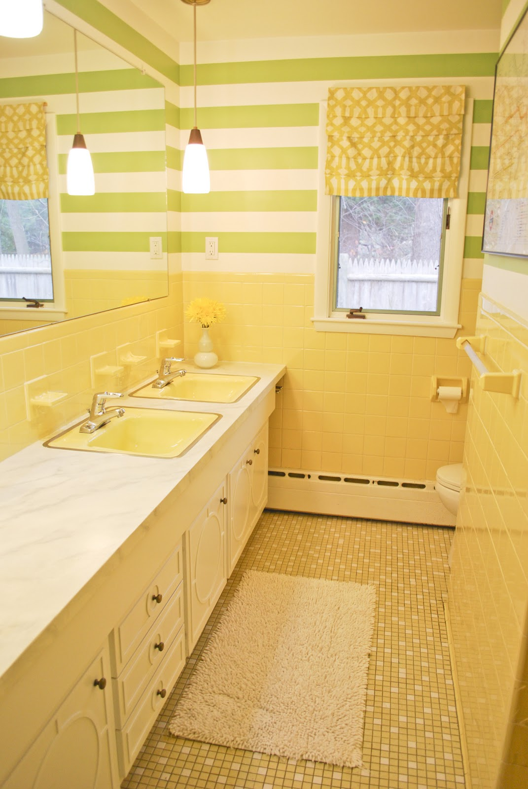 GORGEOUS SHINY THINGS Bathroom On The Cheap Lipstick On A Pig - 1960 bathroom remodel