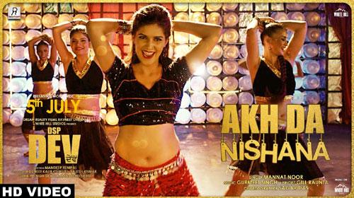 Akh Da Nishana Lyrics - Sapna Choudhary |  Mannat Noor