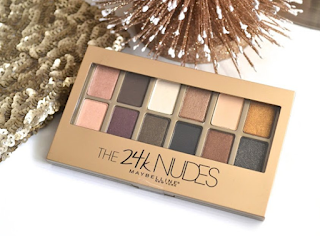 Maybelline 24K Nudes Eye Shadow Palette