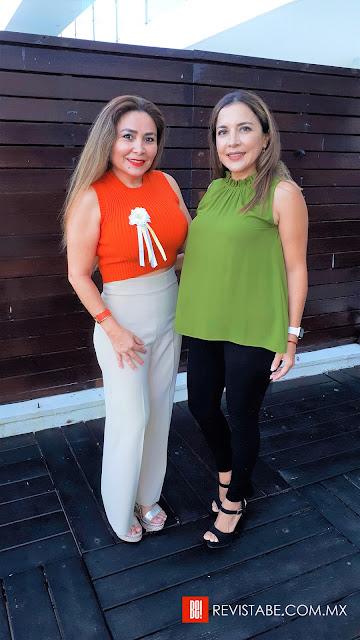 Wendy Orozco y Malena Rodríguez.