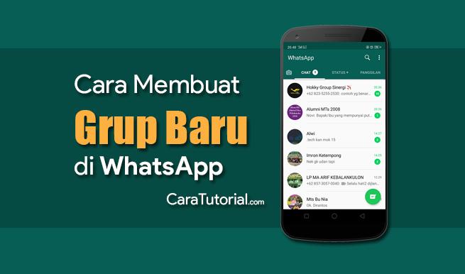 Cara Membuat Grup di WhatsApp Mudah dan Cepat