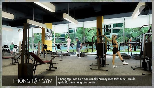 phòng tập Gym An Bình City