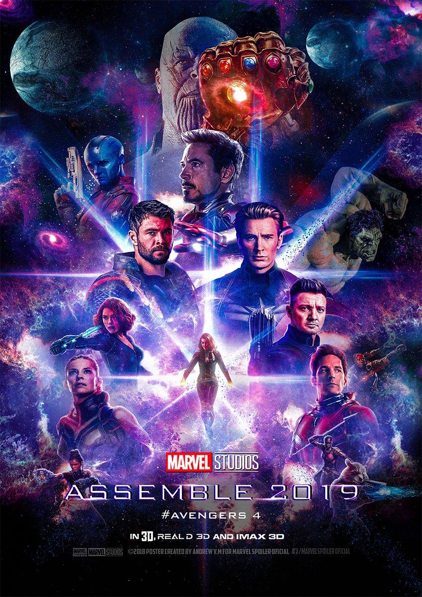 Avengers Endgame Poster Wallpaper Full Movie 2019