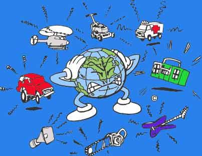 Causas efectos y soluciones contaminaci n por ruido for No mas 900 oficina directa