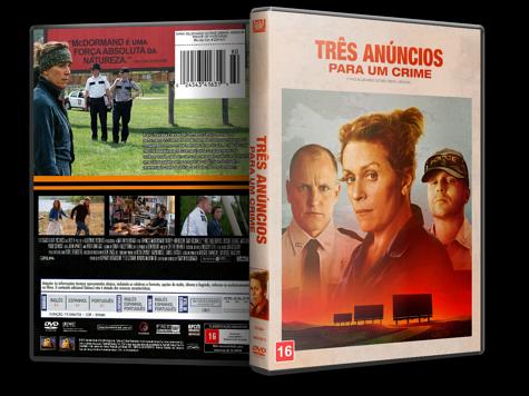 Capa DVD Três Anúncios Para Um Crime