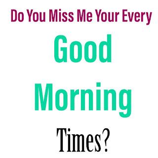 Sweet Good Morning Image