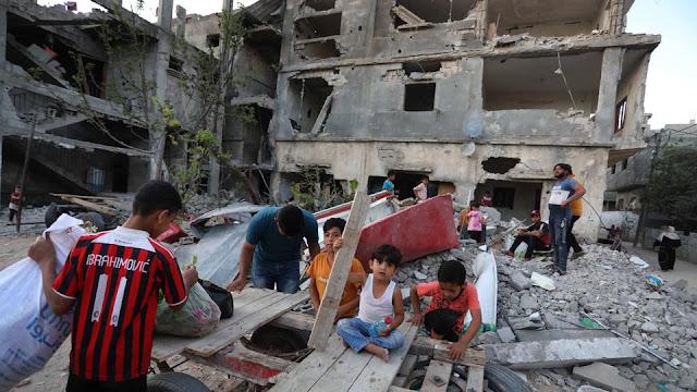 <i>Human Rights Watch:</i> Israel Lakukan Kejahatan Perang di Gaza